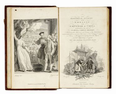 Staunton George : An Historical account of the Embassy to the Emperor of China [...] including the manners and customs of the inhabitants... Geografia e viaggi  - Auction Graphics & Books - Libreria Antiquaria Gonnelli - Casa d'Aste - Gonnelli Casa d'Aste