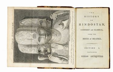 Maurice Thomas : Indian Antiquities or dissertation [...] introductory to and illustrative of The History of Hindostan. Geografia e viaggi, Archeologia, Arte  - Auction Graphics & Books - Libreria Antiquaria Gonnelli - Casa d'Aste - Gonnelli Casa d'Aste