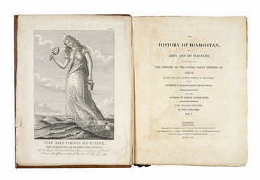 Dow Alexander : The History of Hindostan, its arts and its sciences... Geografia e viaggi  - Auction Graphics & Books - Libreria Antiquaria Gonnelli - Casa d'Aste - Gonnelli Casa d'Aste