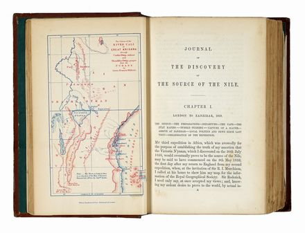 Speke John Hanning : Journal of the discovery of the sources of the Nile... Geografia e viaggi  James August Grant  - Auction Graphics & Books - Libreria Antiquaria Gonnelli - Casa d'Aste - Gonnelli Casa d'Aste