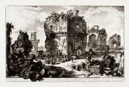 Giovanni Battista Piranesi  (Mogliano Veneto, 1720 - Roma, 1778) : Le antichità romane opera di Giambattista Piranesi architetto veneziano.  - Auction Graphics & Books - Libreria Antiquaria Gonnelli - Casa d'Aste - Gonnelli Casa d'Aste