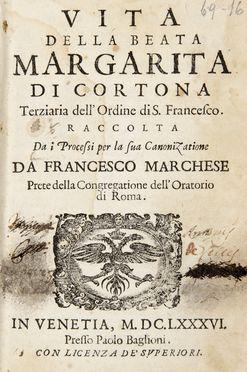 Marchese francesco vita della beata margarita di cortona for Francesco marchesi