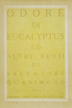 Quasimodo salvatore odore di eucalyptus ed altri versi - Odore di fogna in casa cause ...