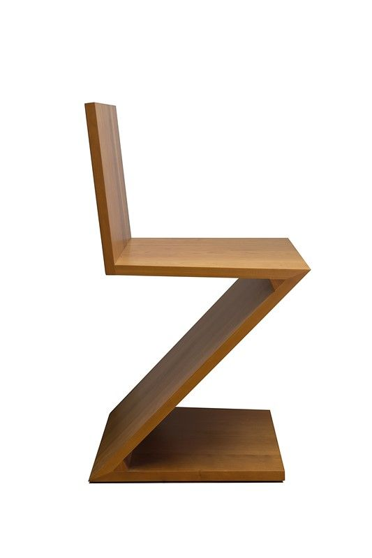 Sedia Zig Zag Cassina Asta Design Grafica Libreria