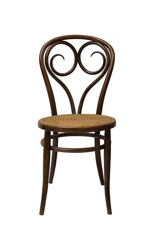 6 sedie thonet con curvatura a ricciolo asta design for Sedie design libreria sapiens