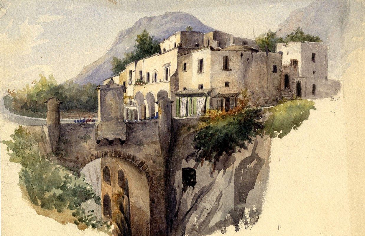 Anonimo del xix secolo veduta del golfo di napoli for Piani di fattoria del 19 secolo