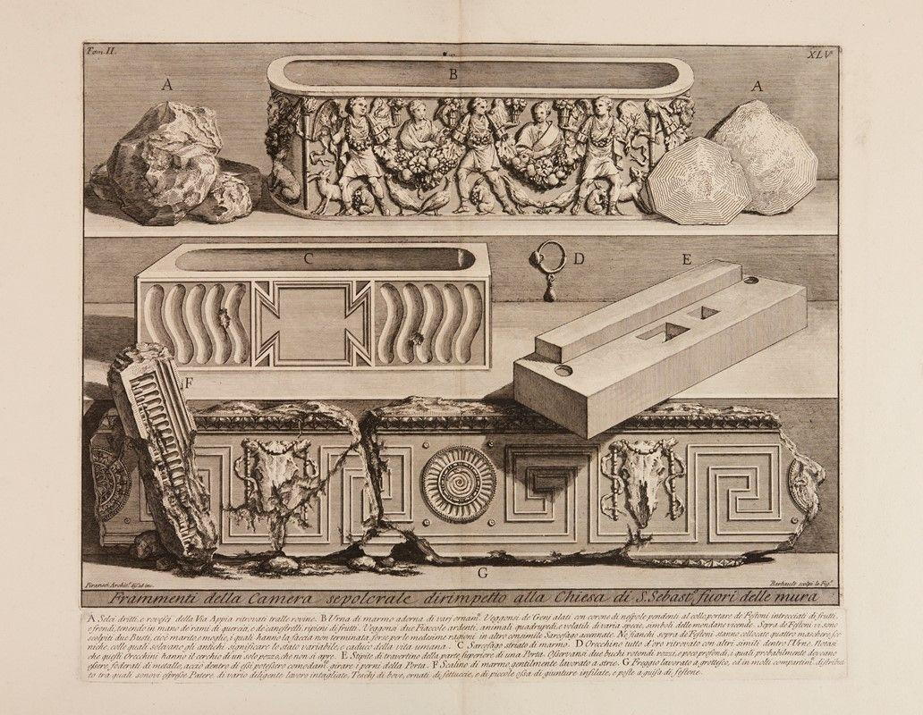 Giovanni battista piranesi mogliano veneto 1720 roma 1778 lotto di 14 tavole da le - Le 12 tavole romane ...