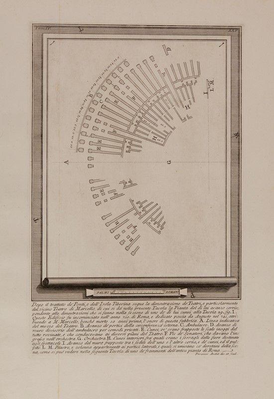 Giovanni battista piranesi mogliano veneto 1720 roma 1778 lotto di 11 tavole da le - Le 12 tavole romane ...