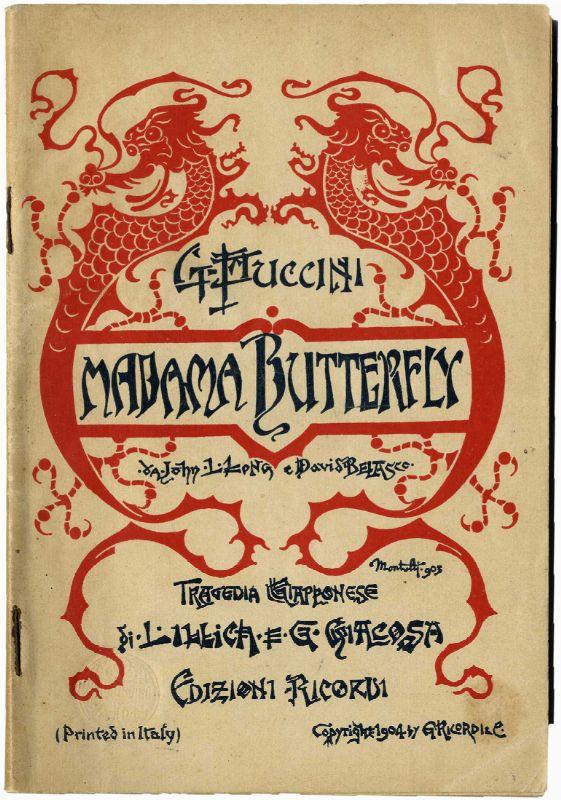 Puccini Giacomo : Madama Butterfly - Libretto d'opera