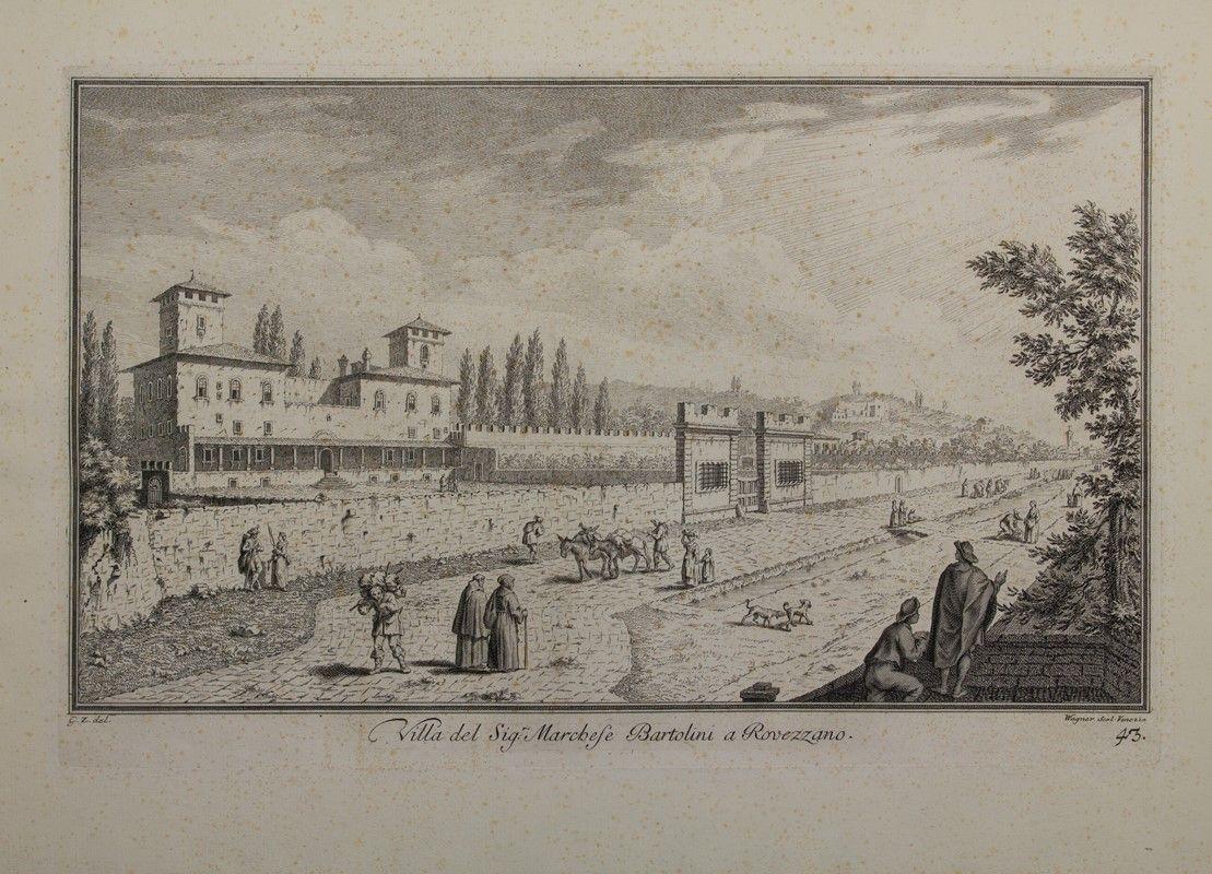 Joseph wagner thalendorf venezia villa del sig with for Disegni di ville
