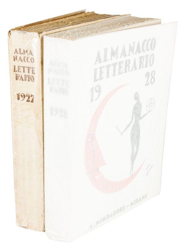 almanacco letterario 1927. bruno angoletta (belluno, 1889 - milano ... - Libreria Antiquaria A Milano