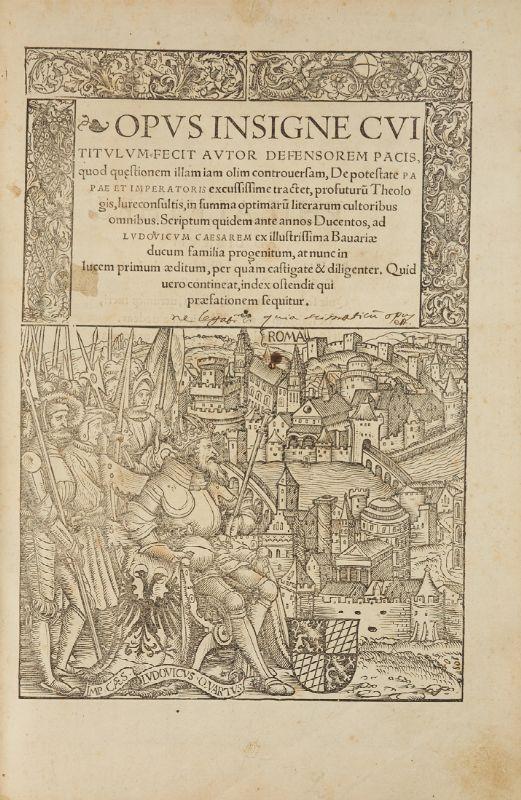 Calendario Aste Padova.Marsilio Da Padova Opus Insigne Cui Titulum Fecit Autor