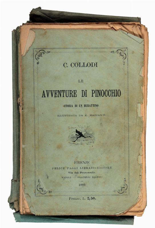 Collodi Carlo : Le avventure di Pinocchio. Storia di un burattino ...