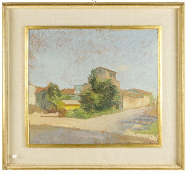 scuola toscana della met del xx secolo paesaggio
