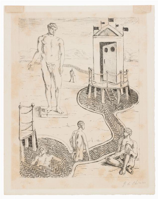 Giorgio De Chirico Volos 1888 Roma 1978 L Idolo