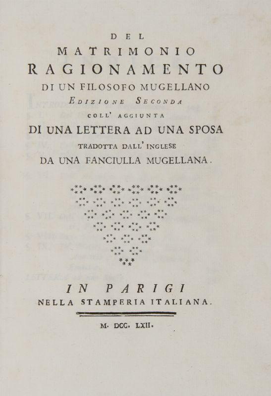 Matrimonio In Letteratura : Cocchi antonio beatrice del matrimonio