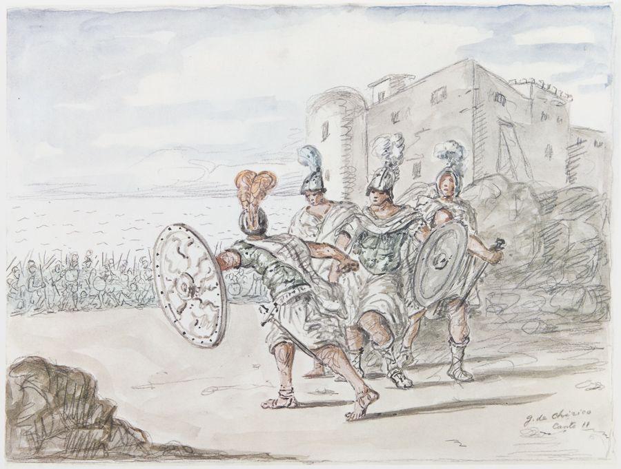 Quasimodo Salvatore Iliade Giorgio De Chirico Volos