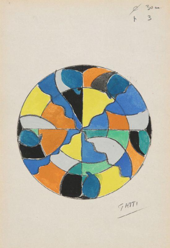 Riccardo Gatti Ceramica.Riccardo Gatti Faenza 1886 1972 Studio Di Decorazione