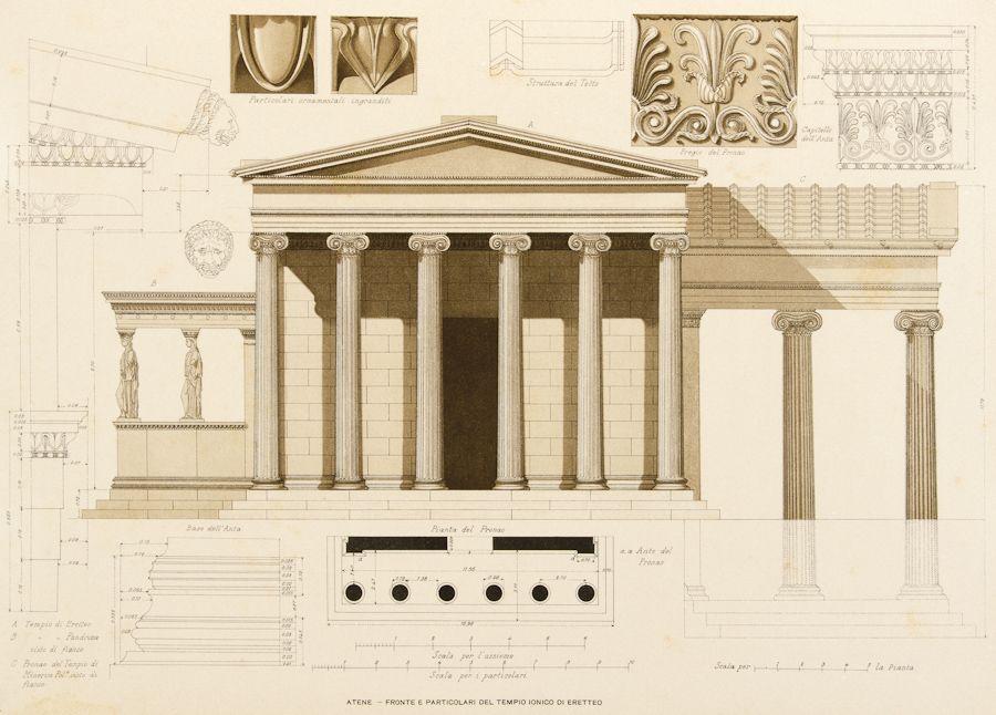 Ventura achille particolari di architettura classica for Casa di architettura gotica