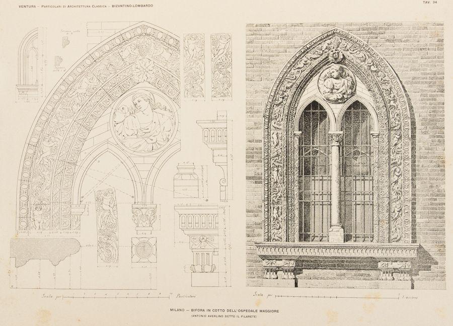 Ventura achille particolari di architettura classica for Disegno della casa di architettura