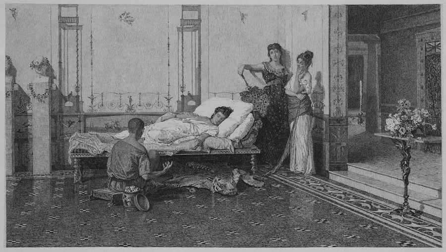 Calendario Aste Trani.Antonio Piccinni Trani 1846 Roma 1920 Schiavo E
