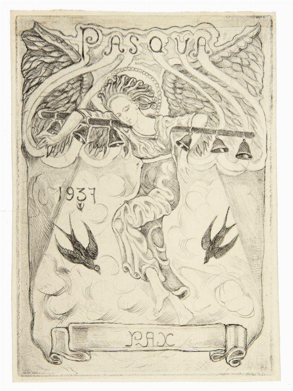 raoul dal molin ferenzona (firenze, 1879 - milano, 1946) : due ex ... - Libreria Antiquaria A Milano