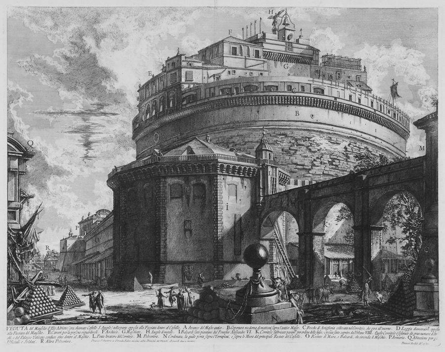 Giovanni battista piranesi mogliano veneto 1720 roma for Abbellimento del lotto d angolo