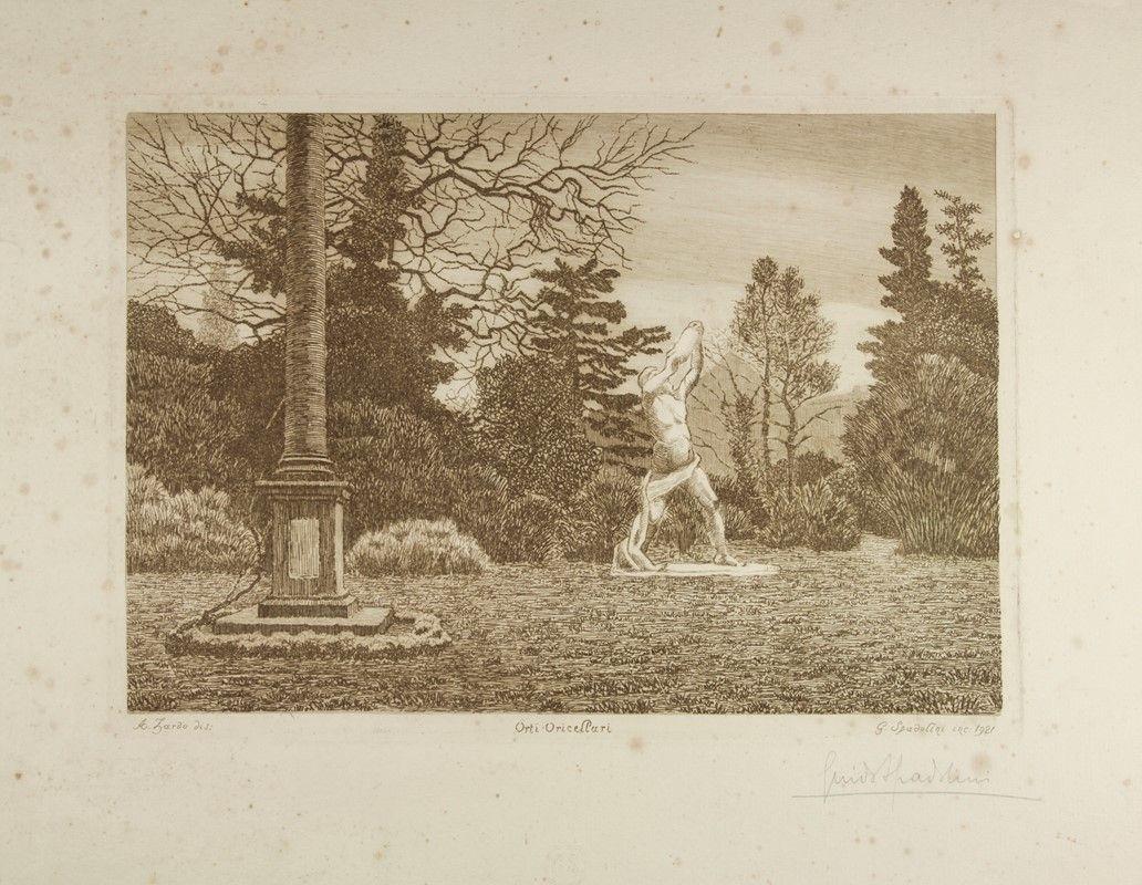 La firenze de 39 fiorentini l 39 hortus dei rucellai - I giardini di palazzo rucellai a firenze ...