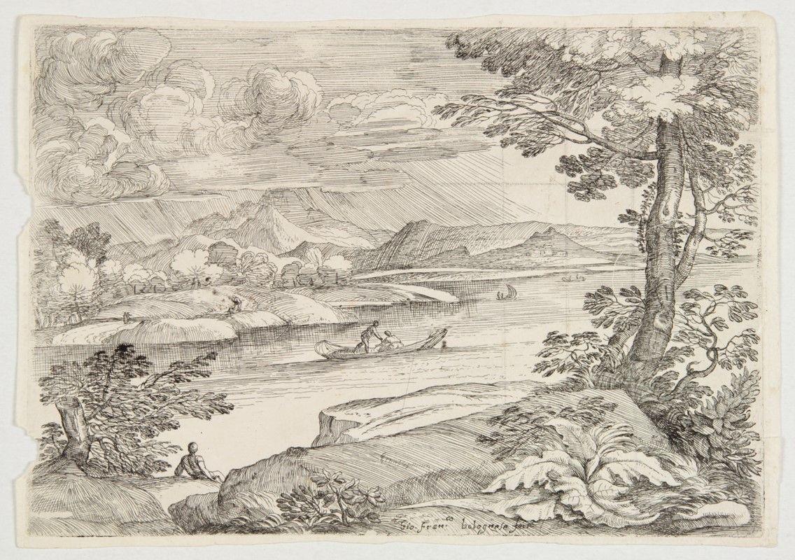 Giovanni francesco grimaldi bologna roma 1680 for Disegni facili di paesaggi