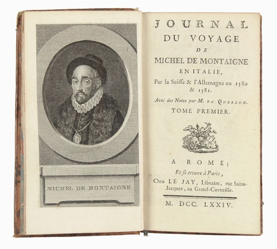 montaigne michel eyquem de journal du voyage en italie par la suisse l 39 allemagne en. Black Bedroom Furniture Sets. Home Design Ideas