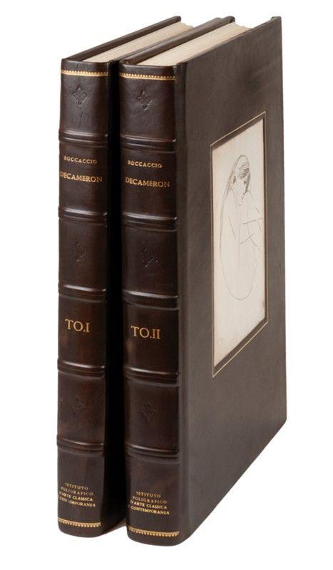 Boccaccio giovanni decameron volume primo secondo for Tito d emilio arredamenti catania
