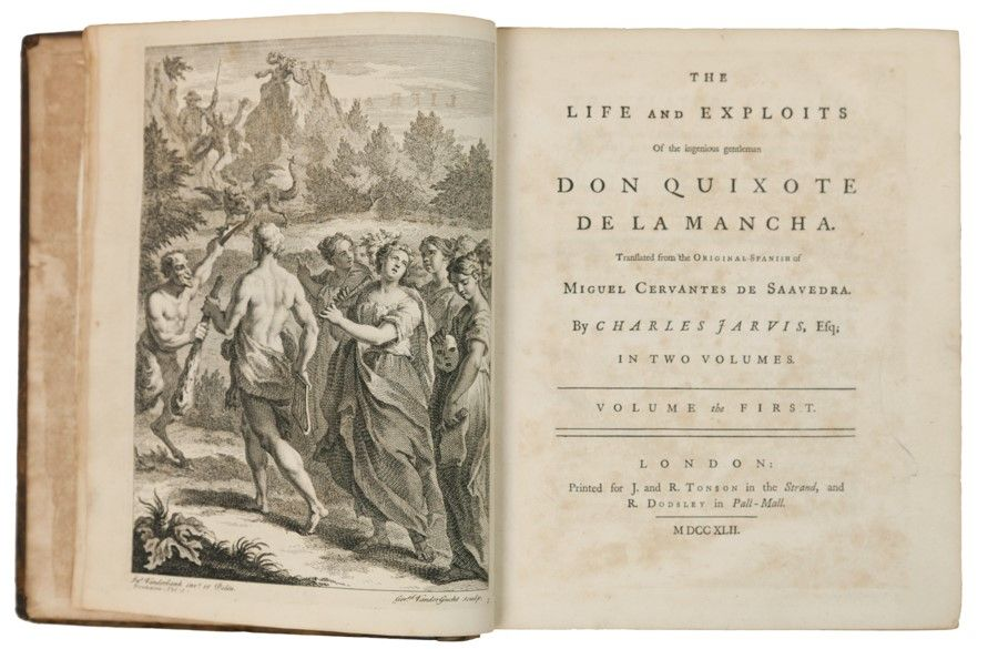 The Life and Exploits of the Ingenious Gentleman Don Quixote De La Mancha Four Volumes