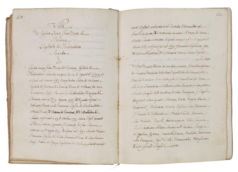 Storia di casa medici asta libri manoscritti stampe for 2 case di storia in florida