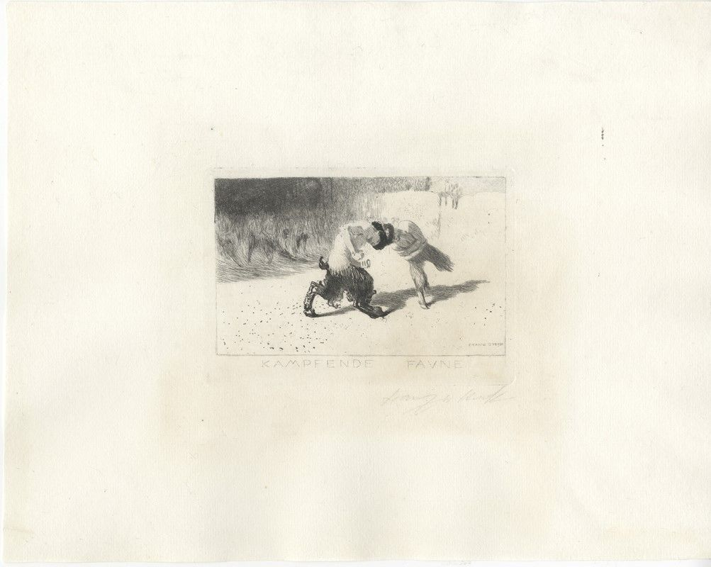 Franz von stuck tettenweis 1863 monaco di baviera 1928 kampfende faune asta libri - Comprare casa a monaco di baviera ...