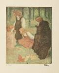 La récréation, 1898.