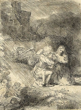 Rembrandt Harmenszoon van Rijn  (Leida, 1606 - Amsterdam, 1669)