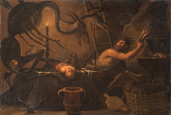 Salvator Rosa  (Arenella, 1615 - Roma, 1673)