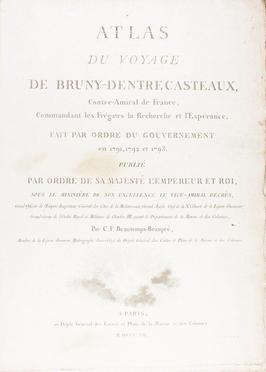Entrecasteaux Antoine Raymond Joseph de Bruni (chevalier d')
