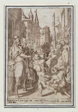 Andrea Boscoli  (Firenze, 1560 - Roma, 1607)
