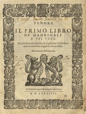 Marenzio Luca