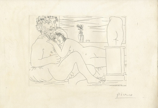 Pablo Picasso  (Malaga, 1881 - Mougins, 1973)