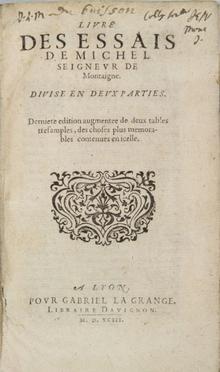 Montaigne Michel Eyquem (de)