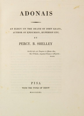 Shelley Percy Bysshe