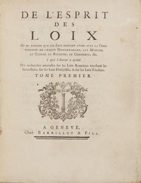 Montesquieu Charles Louis (de)
