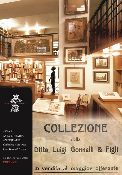 Antiquarian book auction from the collection of Luigi Gonnelli & Figli