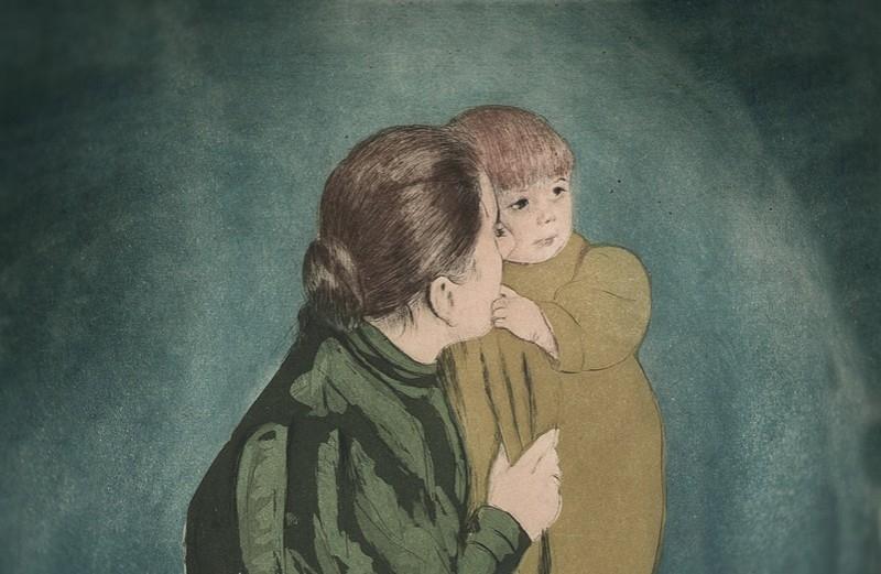 Asta 2: Cassat, Peasant mother and child. Venduto a 62.000 €