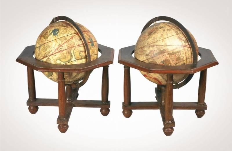 Asta 3: Seutter, Globus Terrestris (-Globus Coelestis). Venduto a 8.000 €