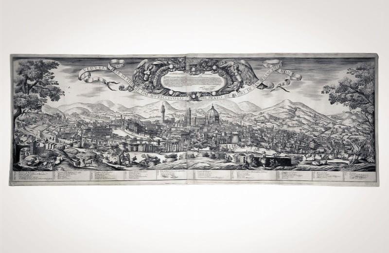 Asta 3: Spada, Veduta della città di Firenze. Venduto a 6.000 €