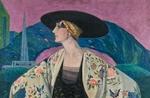 Asta 4: Brunelleschi, Ritratto della Contessa Vera Arrivabene. Venduto a 22.000 €