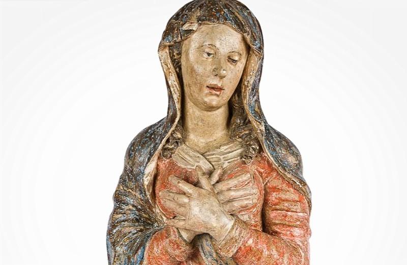 Asta 10 - II: Scuola italiana del XVI secolo, Madonna. Venduto a 5500 €